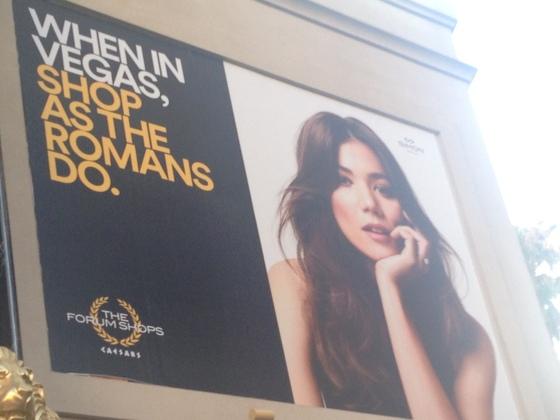 Em Las Vegas faça shopping como os Romanos !