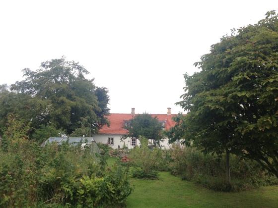 Dorte and Peter's historical farm in Denmark.