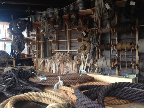 How ropes were made. Como faziam as cordas