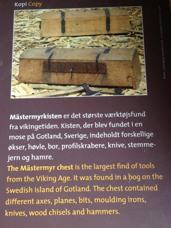 Fantástica caixa de ferramenta Viking encontrada intacta na ilha de Gotland na Suécia !