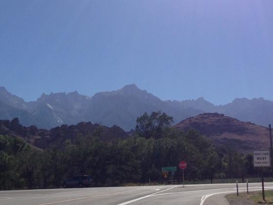 Sierra Nevada (or Eastern High Sierra) and Alabama Hills