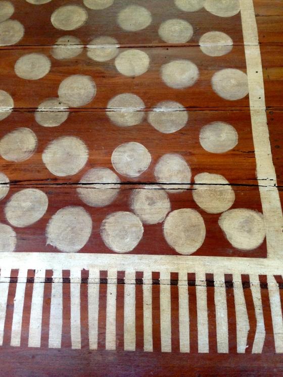 Stylish entrance mat O estiloso tapete da entrada